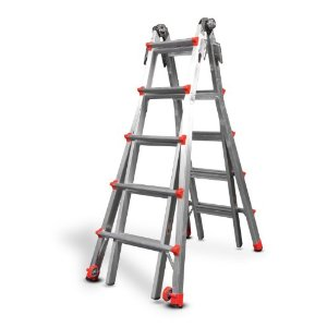 Little Giant 300-Pound Duty Rating Multi-Use Ladder